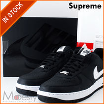 即発AR7623-001 SUPREME/CDG/NIKE AIR FORCE 1 LOW BLACK 29.5cm
