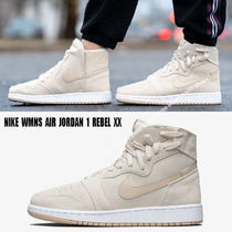 NIKE★WMNS AIR JORDAN 1 REBEL XX★ジッパー★LIGHT CREAM