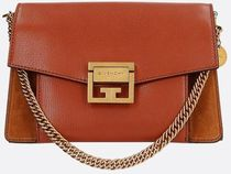 【GIVENCHY】small GV3 bag in leather and suede