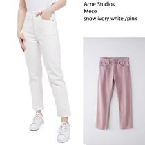 ACNE Mece snow ivory /pink ストレッチスリムレッグジーンズ2色