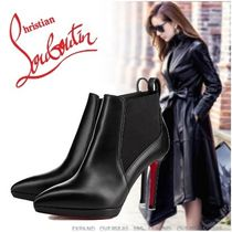 Christian Louboutin☆Crochinetta Calf☆ブラック☆10cm☆