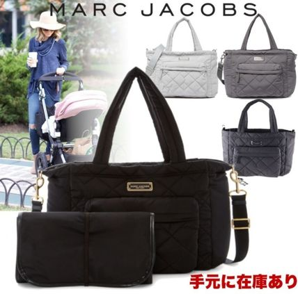 MARC JACOBS(マークジェイコブス) マザーズバッグ 〓Marc Jacobs〓QUILTED NYLON TOTE マザーズバッグ