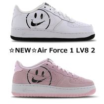 【NIKE】☆Younger Kids☆ ナイキ Air Force 1 LV8 2 スマイリー