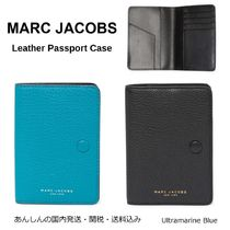 MARC JACOBS(マークジェイコブス) パスポートケース・ウォレット MARC JACOBS【国内発送】Leather Passport Case☆