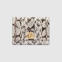 ◆GUCCI◆ Ophidia スネークレザー カードケース