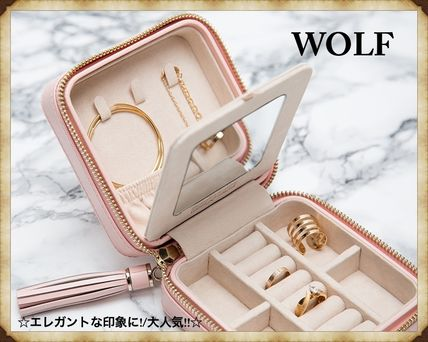 【大人気!!】WOLF CAROLINE ZIP TRAVEL CASE