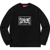 ★  Supreme  ★  SS 19   Week 3  ★  Warm Up Crewneck  Black
