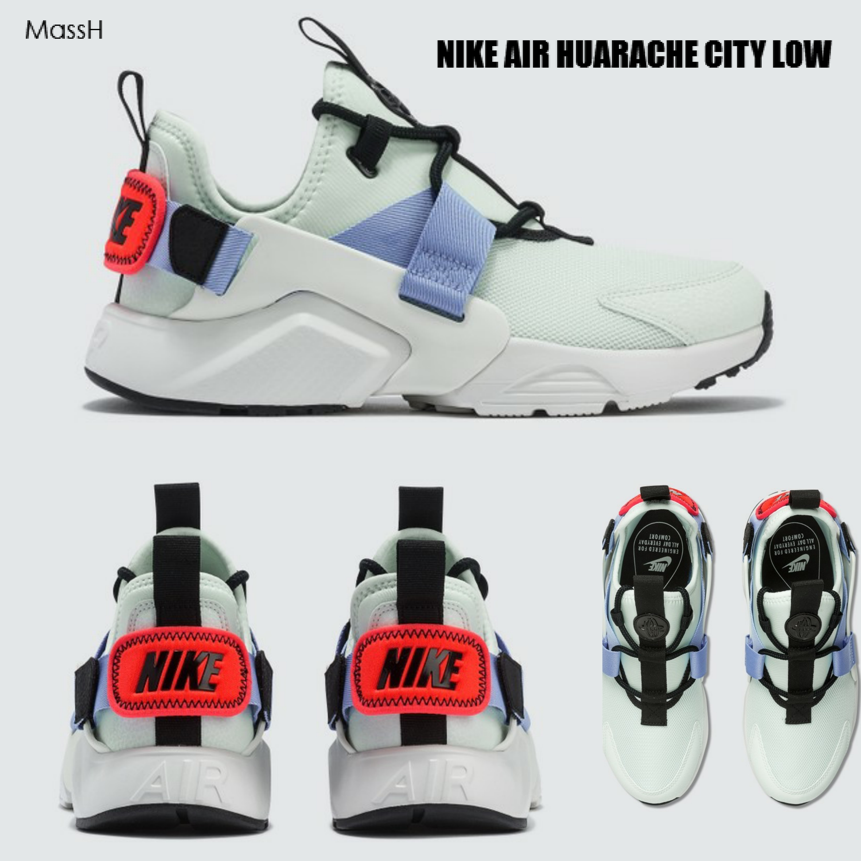 buy popular 9fdda 06679 Nike AIR HUARACHE 2019 SS Street Style Low-Top Sneakers