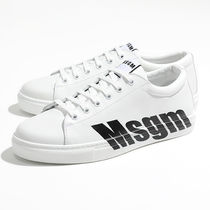 MSGM 2640 MS102 100 99 LOGO CUPSOLE SNEAKERS スニーカー 99