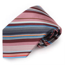 Paul Smith 552M A40366 47 シルク ネクタイ ダークネイビー