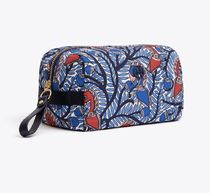 Tory Burch TILDA PRINTED NYLON MEDIUM COSMETIC CASE