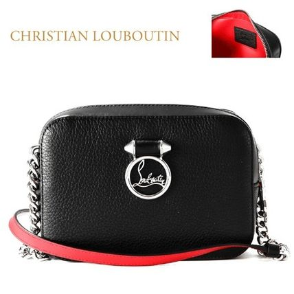 Christian Louboutin正規品/EMS/送料込み Rubylou ロゴ CrossBag