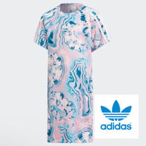 adidas☆3−8yrs☆KIDS ORIGINALS MARBLE TEE DRESS☆