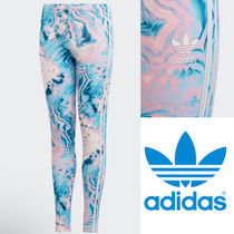 adidas☆7−15yrs☆KIDS ORIGINALS MARBLE LEGGINGS☆