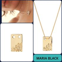 【MARIA BLACK】Gold ROCK TAG ネックレス_関送込_国内発送