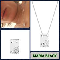 【MARIA BLACK】Silver ROCK TAG ネックレス_関送込_国内発送