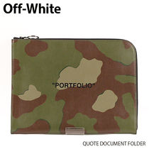 Off-White クオート ドキュメントホルダー OMNA053R19853023