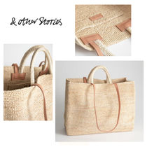 【& Other Stories】★日本未上陸★ Large Woven Straw Tote