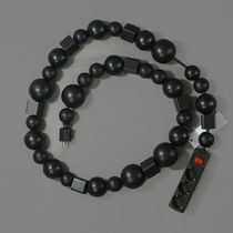BLESS(ブレス) インテリア雑貨・DIYその他 BLESS N°26 CABLE JEWELLERY EXTENSION CORD BLACK/BLACK 2M