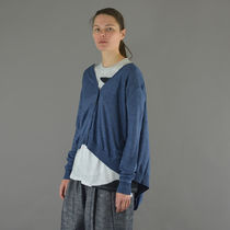 BLESS(ブレス) カーディガン BLESS N°64 UNISEX EXTENDED KNIT CARDIGAN BLUE