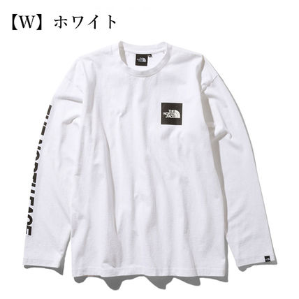 THE NORTH FACE Tシャツ・カットソー 【THE NORTH FACE】ロングスリーブスクエアロゴスリーブティー(2)