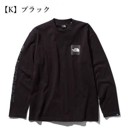 THE NORTH FACE Tシャツ・カットソー 【THE NORTH FACE】ロングスリーブスクエアロゴスリーブティー(7)
