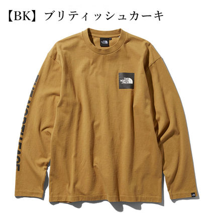 THE NORTH FACE Tシャツ・カットソー 【THE NORTH FACE】ロングスリーブスクエアロゴスリーブティー(4)