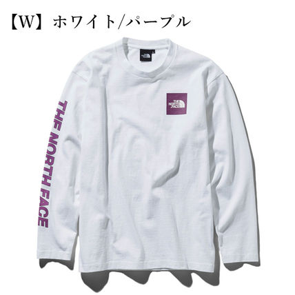 THE NORTH FACE Tシャツ・カットソー 【THE NORTH FACE】ロングスリーブスクエアロゴスリーブティー(11)