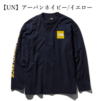 THE NORTH FACE Tシャツ・カットソー 【THE NORTH FACE】ロングスリーブスクエアロゴスリーブティー(13)