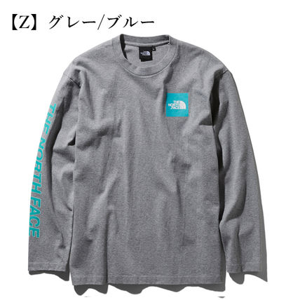 THE NORTH FACE Tシャツ・カットソー 【THE NORTH FACE】ロングスリーブスクエアロゴスリーブティー(14)
