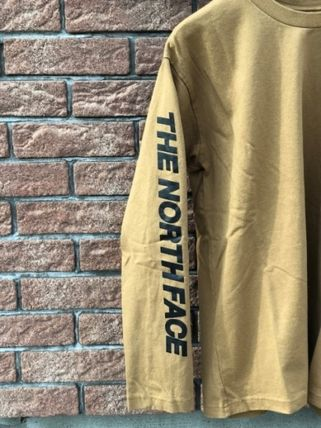 THE NORTH FACE Tシャツ・カットソー 【THE NORTH FACE】ロングスリーブスクエアロゴスリーブティー(6)