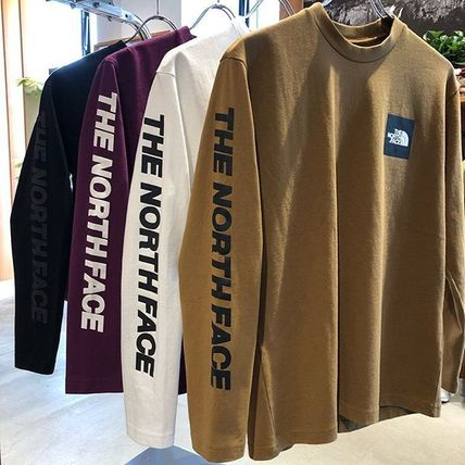THE NORTH FACE Tシャツ・カットソー 【THE NORTH FACE】ロングスリーブスクエアロゴスリーブティー(15)