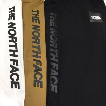 THE NORTH FACE Tシャツ・カットソー 【THE NORTH FACE】ロングスリーブスクエアロゴスリーブティー(17)