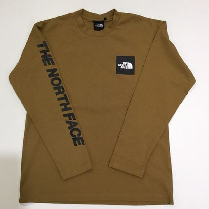 THE NORTH FACE Tシャツ・カットソー 【THE NORTH FACE】ロングスリーブスクエアロゴスリーブティー(18)