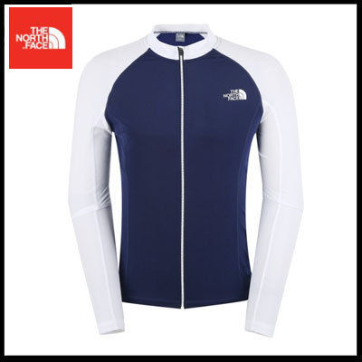 THE NORTH FACE ラッシュガード (ザノースフェイス) M'S PROTECT RASHGUARD ZIP UP NJ5JK03C