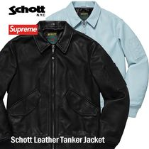 Supreme Schott Leather Tanker Jacket SS 19 WEEK 5