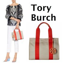 Tory Burch★ Miller Canvas Tote キャンバストート♪