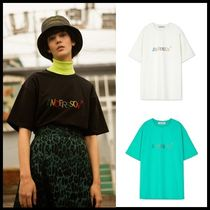☆ANDERSSON BELL☆ UNISEX KITSCH EMBROIDERY T SHIRT