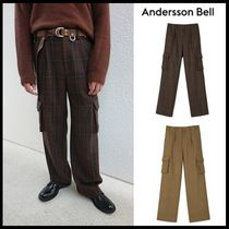 ☆ANDERSSON BELL☆ PRIMA CARGO POCKET WIDE LEGGED TROUSERS