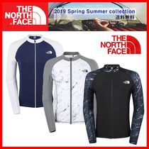 人気★【THE NORTH FACE】★M'S PROTECT RASHGUARD ZIP UP★3色
