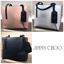 SALE!!【Jimmy Choo】TWIST EAST WEST♪バイカラー♪トート♪