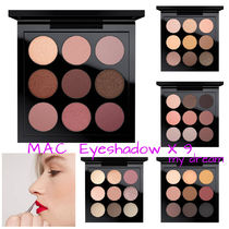 MAC★EYE SHADOW X 9 (全5色)