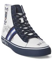 Solomon Crested High-Top Sneakers