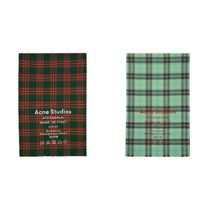 【Acne Studios】Check Cassiar Scarf