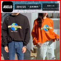 人気【ASCLOエジュクロ】☆Asclofit Universal Sweat Shirt☆2色