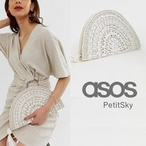 ASOS☆Accessorize ハーフムーンクラッチバッグ♪
