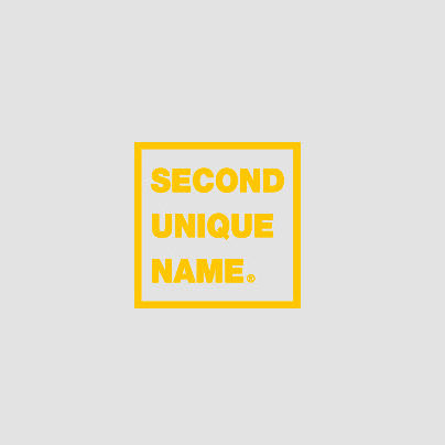 SECOND UNIQUE NAME スマホケース・テックアクセサリー 【NEW】「SECOND UNIQUE NAME」 PVC CLEAR yellow 正規品(2)