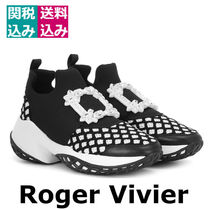新着・関税込☆ROGER VIVIER☆Viv' Run Strass Buckle sneakers