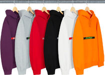 ★ Supreme ★ SS 19   Week 4 ★  Zip Pouch Hooded Sweatshirt