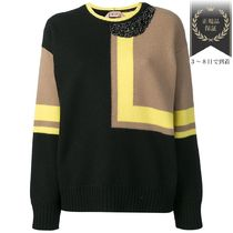 半額以下SALE▼colour block jumper